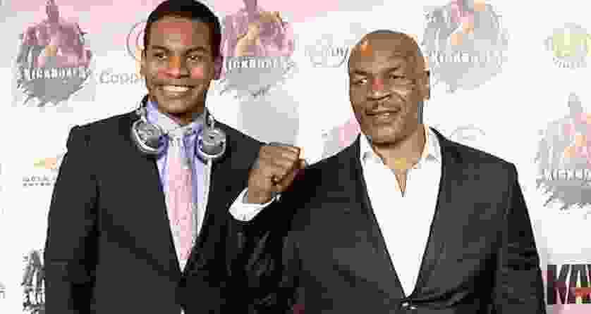 Miguel Leon Tyson,  Son of Heavyweight champion Mike Tyson.